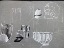 Still Life WIP by overtheact
