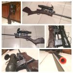 Team fortress 2 sniper rifle  cosplay prop by rubymcnugget