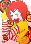 Ronald in Bubbles by devilarcana
