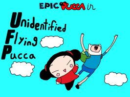 Unidentified Flying Pucca by rabbidlover01