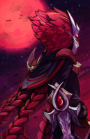 Bloodmoon Talon hype by GrouchyGutterRat