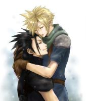 zack x cloud original by Juraji