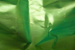 Crumpled Green Paper 1 by Niedec-STOCK