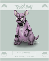 PokeProject - Granbull by Chaluny