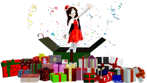 [MMD] 25 Presents Pack DL by OniMau619