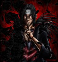 Uchiha Itachi by Junior-Rodrigues
