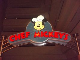 Chef Mickey's by blunose2772