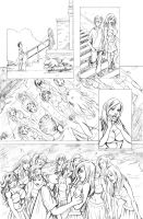 Zombies vs Cheerleaders story page 5 by AmberStoneArt