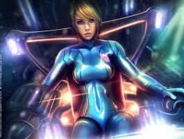 SAMUS: I Can See You - Metroid by Eddy-Shinjuku