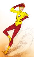 YJ-Kid Flash by redblacktac