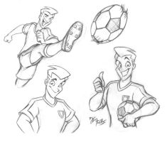 Soccer Player by eltonpot