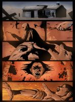 A Life of Death Page Four by jamesabels