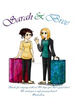 Aussies! Bree and Sarah by sapphire-night
