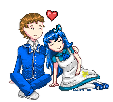 Blue Love [Entrie for irenereru Contest] by Mante-KO
