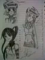 Grils_Weapons by PhineasFan1