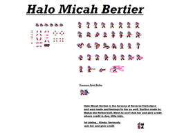 Halo Finished Sprite Sheet by Rudolphtheehcidna
