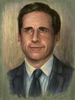 Steve Carell by KayGoody