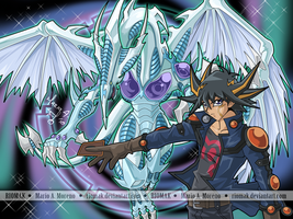 Yusei and Stardust Dragon by Riomak