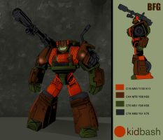 Roadbuster Upgrade colors by Giga-Leo