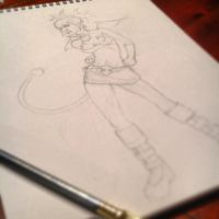 Etna Pinup #art #wip #Disgaea by SylvanCreatures