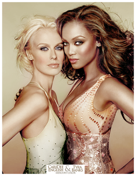 Tyra and CariDee Colorize by Mercury90