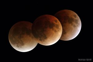 total lunar eclipse by frenchbear