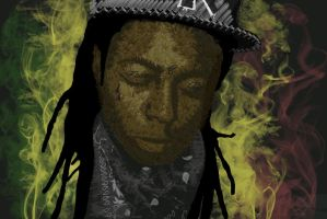 Lil Wayne by Red5eptember