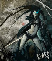 FANART - Black Rock Shooter by S-P-N