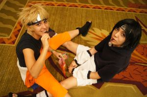 Naruto and Sasuke - BEEF JERKY by Dangerous-Spice