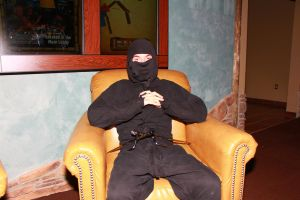 ColossalCon 2013 - Ninja in a Chair by VideoGameStupid