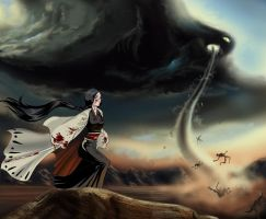 Captain Unohana's BANKAI by CheshFire
