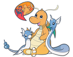 Dragonite Family by Kingtankone