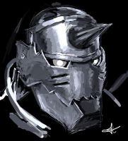 Alphonse Elric by paperfool