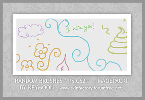 Random Brushes by KeyMoon