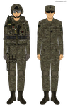 Female US Army Multycam Troopers by Milosh--Andrich