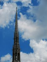 The Cathedral Spire by Contengent-Necessity