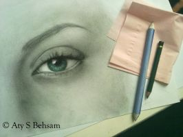 Eye Project - Elizabeth WIP 5 by Aty-S-Behsam