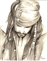 Jack Sparrow by NillaWafer88