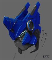 Autobot Head Sketch by KrIM-art