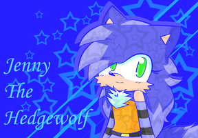 Jenny the Hedgewolf by cuteygirl226