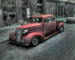 Chevy 38 HDR by Zlowie