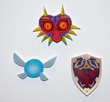 Zelda Magnets by knil-maloon