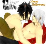 Happy Halloween SuiXSasu by fluffys-inu