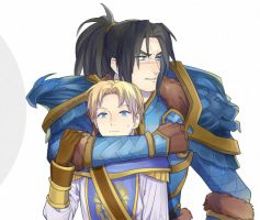 Varian and his son by Pagodon