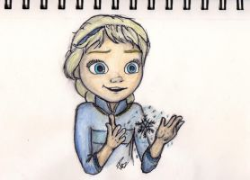Young Elsa - Frozen by PazGranger