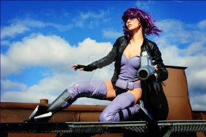 Motoko Kusanagi Ghost in The Shell Cosplay by LauraCraftCosplay
