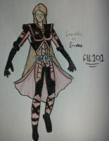Emeraldas as Ermac 3 by Fil101