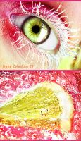 lemon sorbet eye by ftourini
