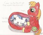 Big Macintosh Vored Shining Armor by CobaltBrony