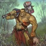 Warrior orc for contest of Brevis-art by Na1t